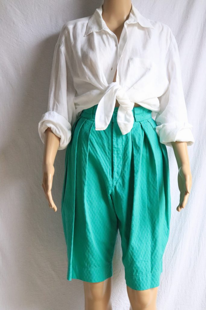 80s high waisted cotton shorts