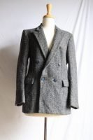 yves saint laurent grey wool blazer
