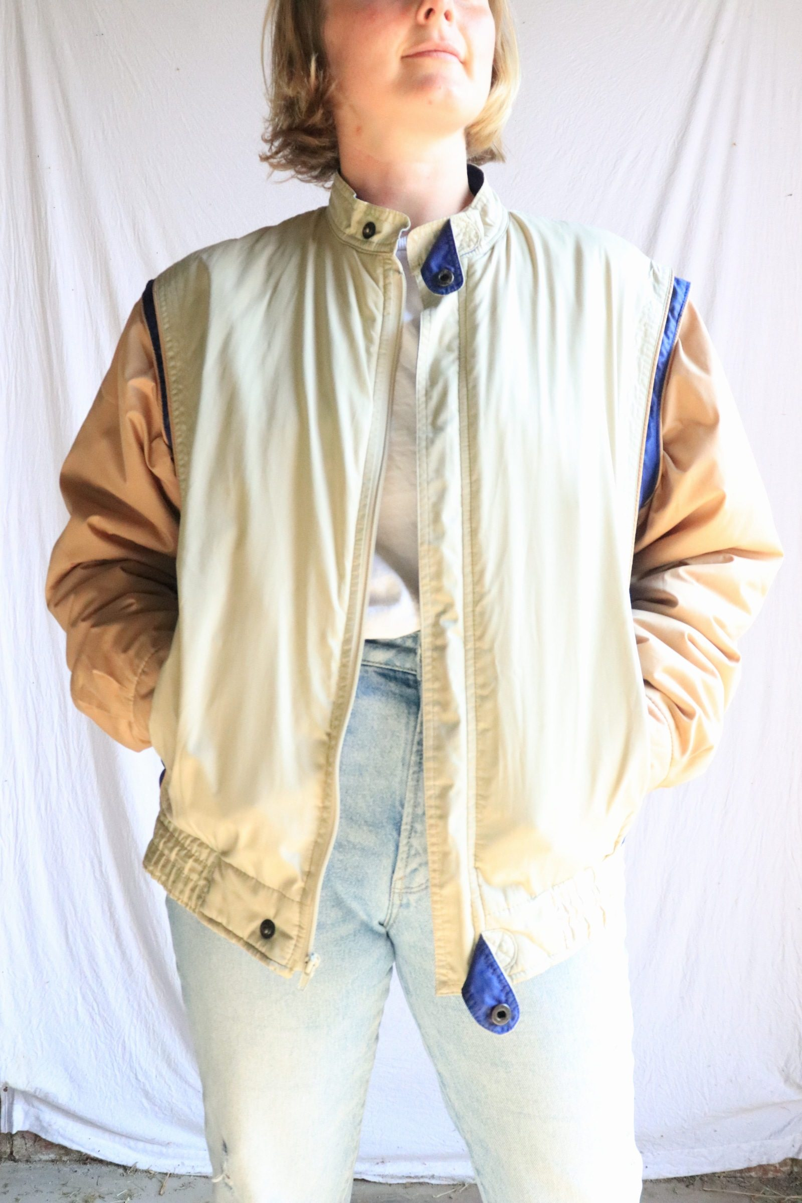 80s Pierre Cardin casual jacket