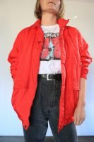 80s red spray jacket