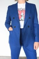 70s does 90 blue wool suit