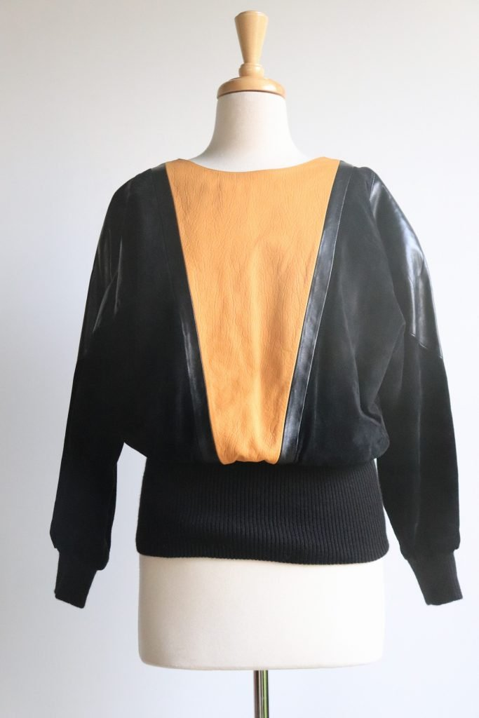 80s jumper with batwing sleeves